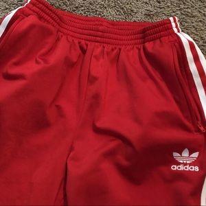 aee943e9ea0c adidas Bottoms   Euc Youth Boys Or Girls Xl Red Pants   Poshmark